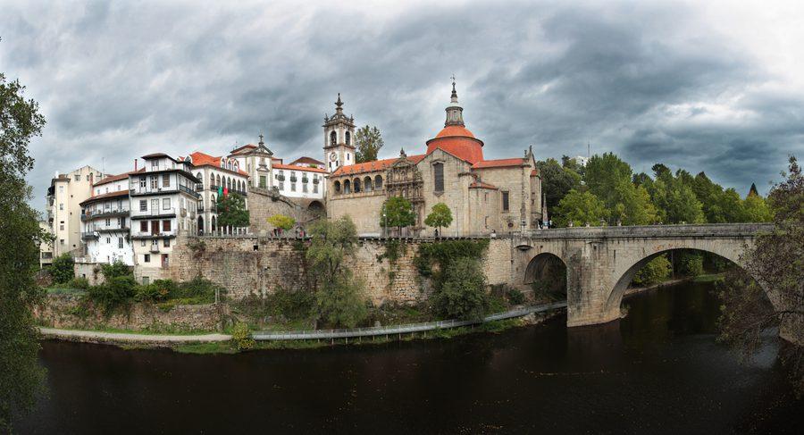 Amarante Rio, Mosteiro e Ponte